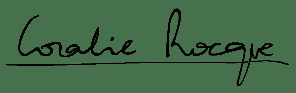 Logo Coralie Rocque Web identity Designer
