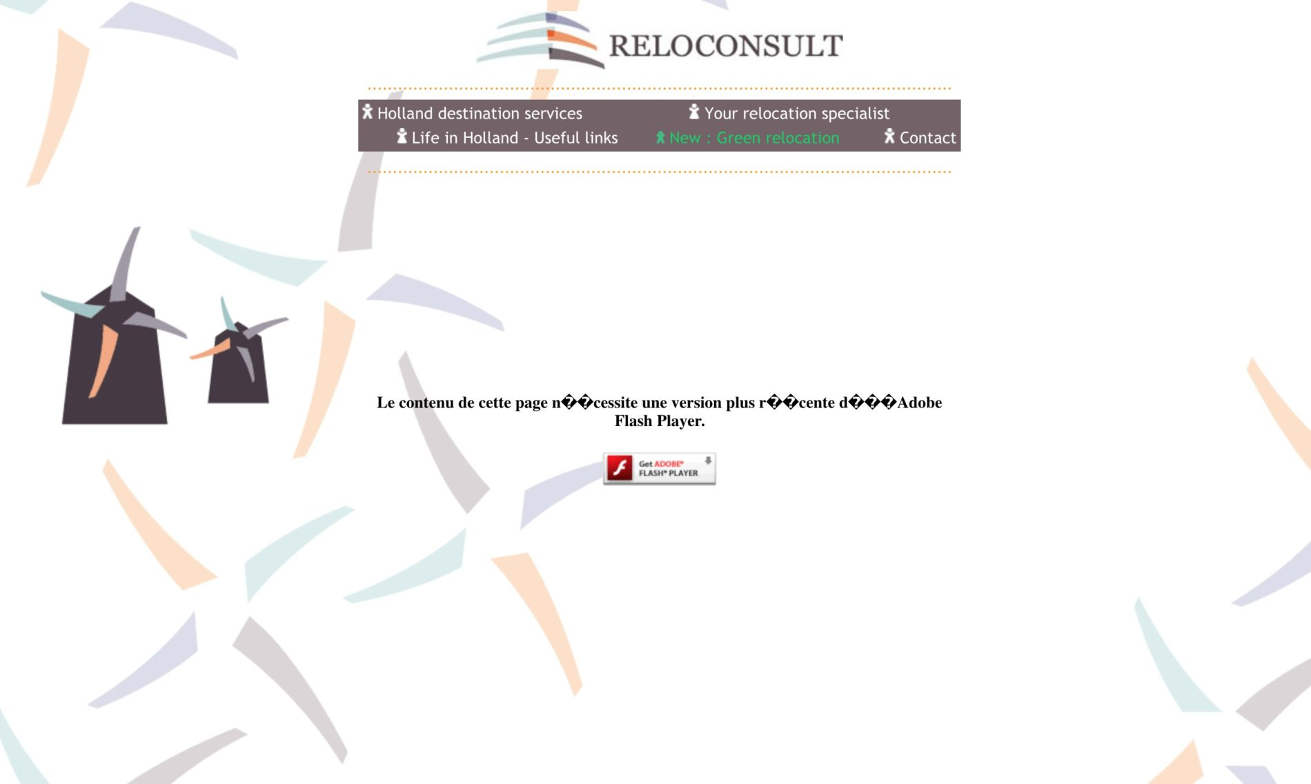 old Homepage Reloconsult